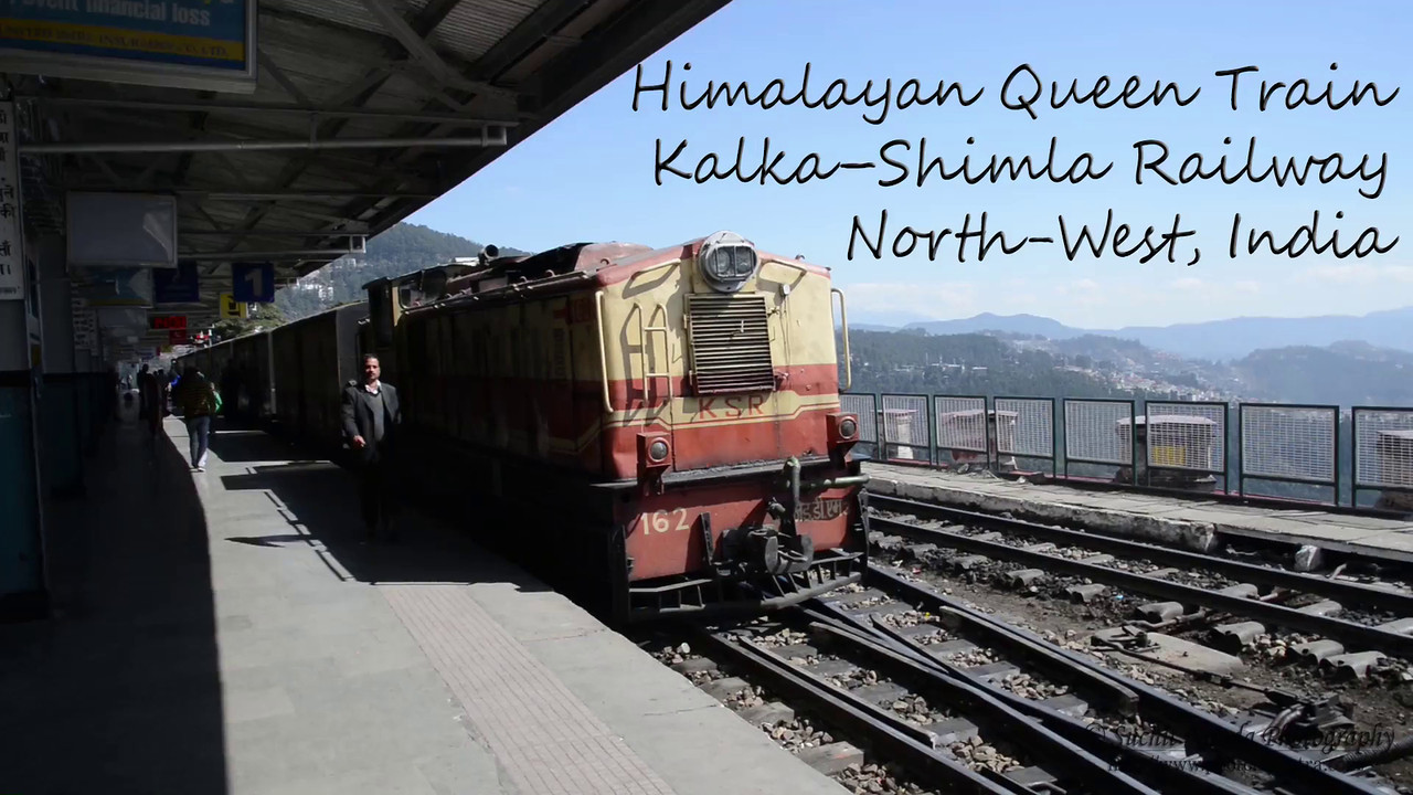 The Kalka–Shimla Railway