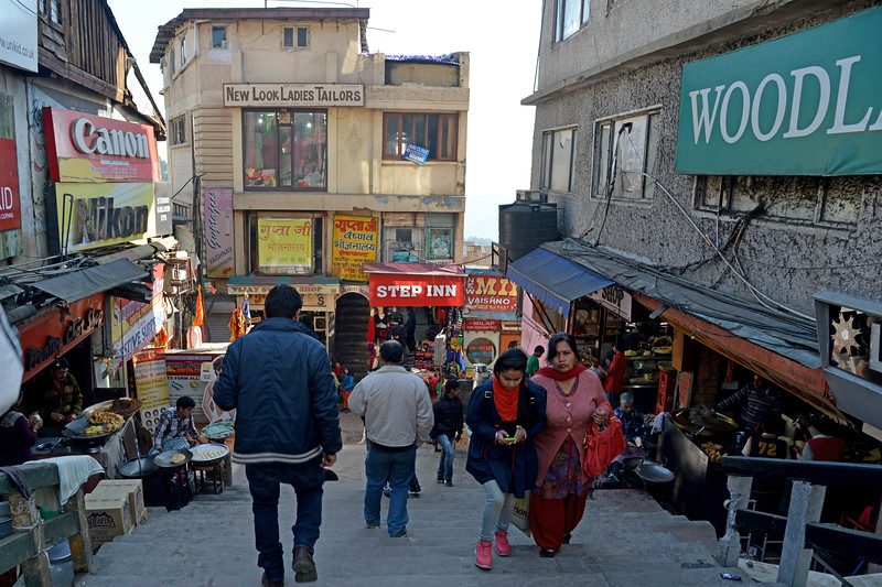 Streets and by-lanes of Shimla.<br /> Shimla is the capital city of the Indian state of Himachal Pradesh, located in northern India at an elevation of 7,200 ft. Due to its weather and view it attracts many tourists. It is also the former capital of the British Raj.