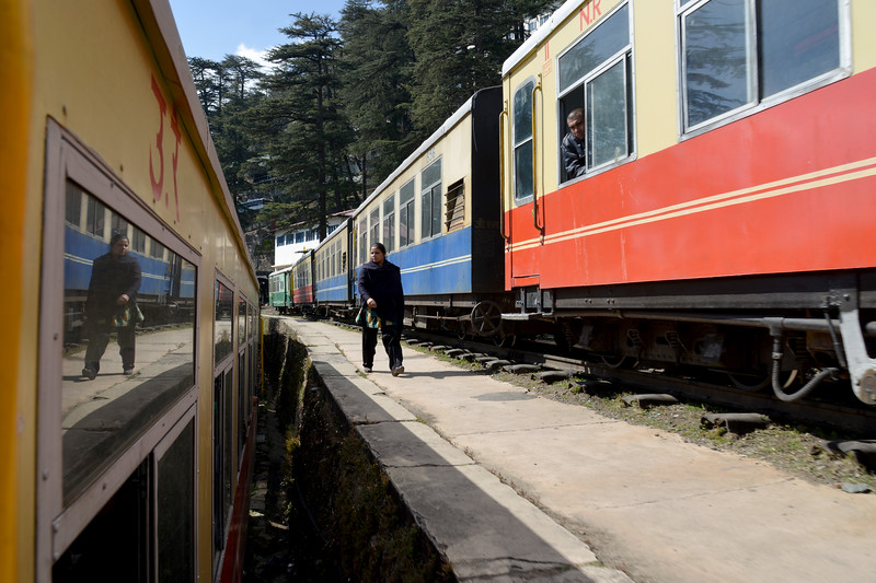 The Kalka–Shimla Railway. Shimla is the capital city of the Indian state of Himachal Pradesh, located in northern India at an elevation of 7,200 ft. Due to its weather and view it attracts many tourists who arrive on the narrow gauge train.