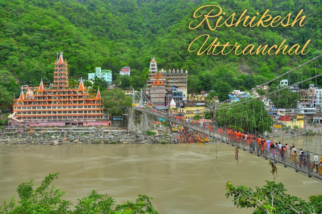 Rishikesh, Uttranchal (UK), India.