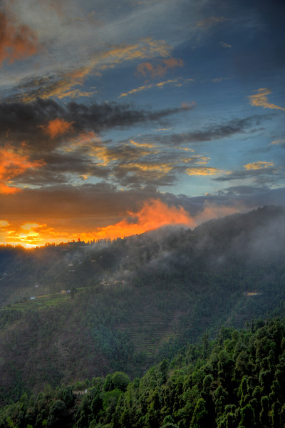 Tonemapped picture of Uttaranchal, India.