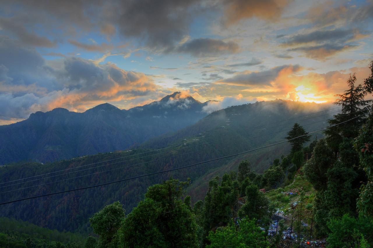 Tonemapped picture of Uttaranchal, India.