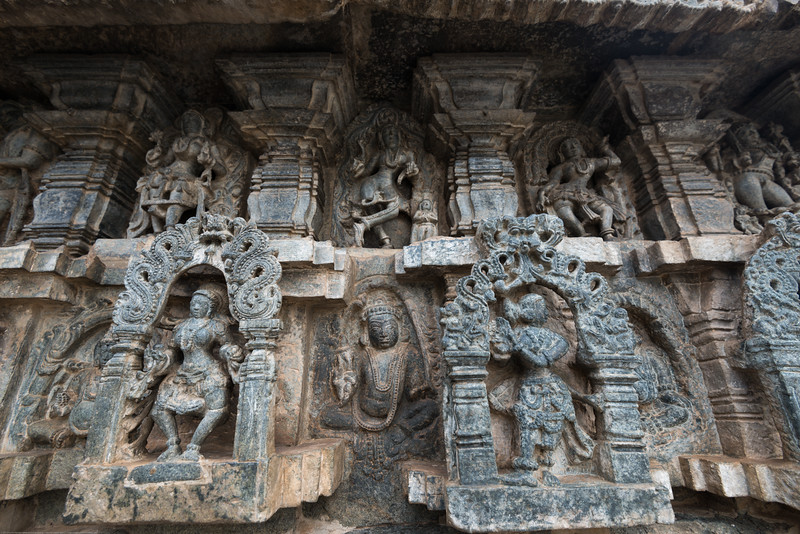 The Channakesava Temple, Belur, Karnataka. Originally called Vijayanarayana Temple, it was built on the banks of the Yagachi River in Belur, Hassan district by the Hoysala Empire King Vishnuvardhana.<br /> <br /> Channakesava is a form of the Hindu god Vishnu. Belur is famous for its marvelous temples and have been proposed to be listed under UNESCO World Heritage Sites.