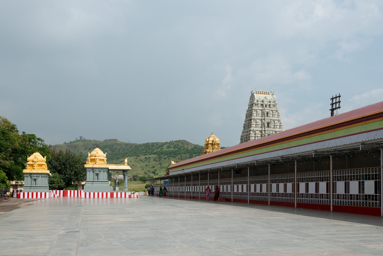 Prati Balaji Temple, Narayanapur, Ketkawale Balaji Road, Pune, Maharashtra, India.<br /> This Hindu Temple is a replica of Tirumala and located around 45 km from Pune on Pune-Satara highway. The design of the temple is the perfect replica of the Tirupati Balaji temple. Inside the temple there is idol of the Lord Venkateshwara and there are four small temples inside main temple.