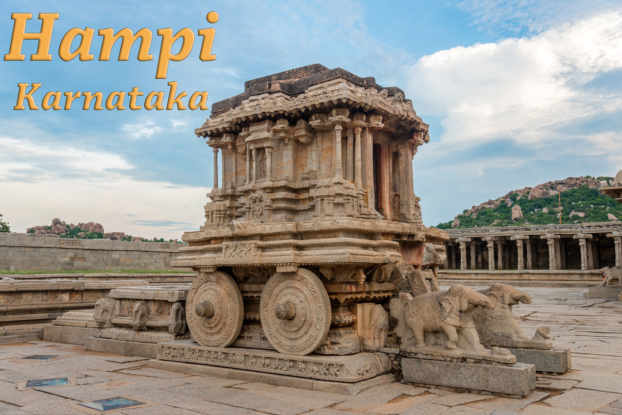 Hampi, Karnataka is a world famous UNESCO World Heritage Site. Hampi was one of the largest and richest city in the world during its prime time when it was the imperial capital of the Vijayanagara Empire in the 14th century. Today it continues to be an important religious centre, housing temples and several other monuments belonging to the old city.