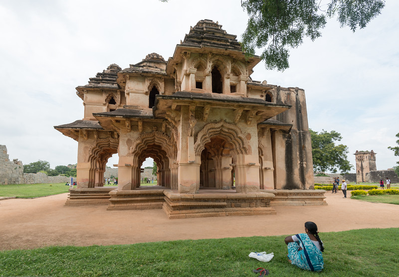 Zenana enclosure was a secluded area reserved for the royal women. This walled harem houses many interesting highlights. The major attraction is the Lotus Mahal located at the southeast corner.<br /> <br /> Hampi, Karnataka is a world famous UNESCO World Heritage Site.