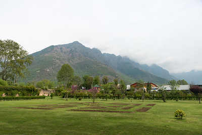 Shalimar Bagh (Hindi: शालीमार बाग़; Urdu: شالیمار باغ‎) is a Mughal garden in Srinagar, Kashmir linked via a channel to Dal Lake. The public park, Shalimar Garden, was built by Mughal Emperor Jahangir for his wife Noor Jahan, in 1619.