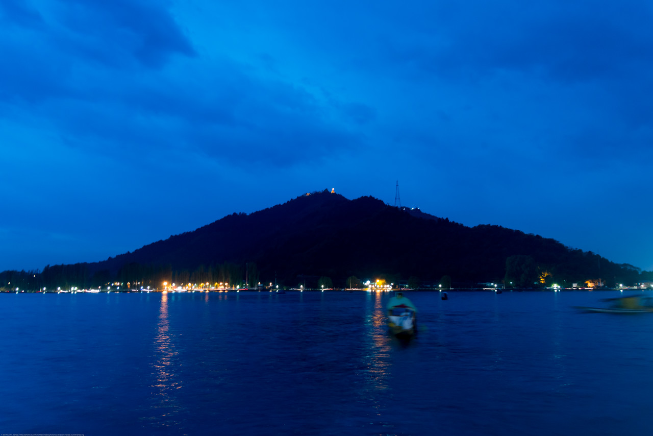 """Dal Lake, Jammu and Kashmir, India. The urban lake, is the second largest in the state, is integral to tourism and recreation in Kashmir and is named the """"Jewel in the crown of Kashmir"""" or """"Srinagar's Jewel""""."""