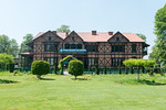 Kashmir Government Arts Emporium, Srinagar, J&K, Kashmir, India. Kashmiri crafts at fixed prices are displayed and sold in the century-old half-timbered former British Residency Building (gu ...