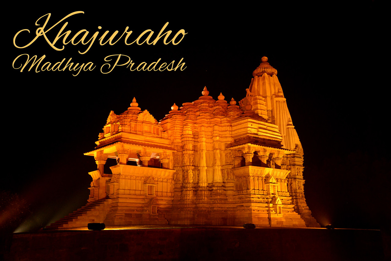Khajuraho - Land Of The Moon God is located in the Indian state of Madhya Pradesh (MP), India.
