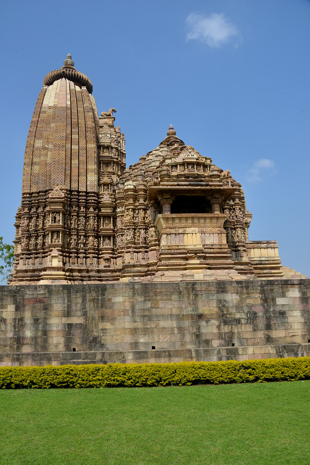 "Khajuraho - Land Of The Moon God is located in the Indian state of Madhya Pradesh (MP) and roughly 620 kilometers (385 miles) southeast of New Delhi. Khajuraho was the cultural capital of the Chandela Rajputs, a Hindu dynasty that ruled from the 10th to 12th centuries. The temples of Khajuraho are famous for their so-called ""erotic sculptures"".<br /> <br /> Symbolising a medieval legacy, the Khajuraho temples are a perfect fusion of architectural and sculptural excellence, representing one of the finest examples of Indian art. To some, they are the most graphic, erotic and sensuous sculptures the world has ever known. But Khajuraho has not received the attention it deserves for its significant contribution to the religious art of India - there are literally hundreds of exquisite images on the interior and exterior walls of the shrines.<br /> <br /> Architecturally they are unique. While each temple has a distinct plan and design, several features are common to all. They are all built on high platforms, several metres off the ground. The stone used throughout is either granite or a combination of light sandstone and granite. Each of these temples has an entrance hall or mandapa, and a sanctum sanctorum or garbha griha. The roofs of these various sections have a distinct form. The porch and hall have pyramidal roofs made of several horizontal layers. The inner sanctum's roof is a conical tower - a colossal pile of stone (often 30m high) made of an arrangement of miniature towers called shikharas."