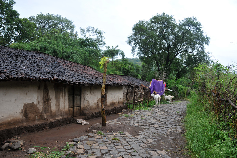 Villages in rural India in the state of Maharashtra.
