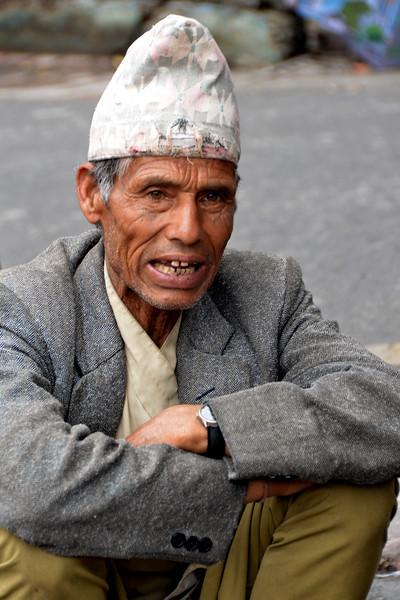 Porter men at Mussoorie, Uttaranchal, India