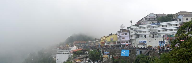 Panoramic view of Mussoorie, Uttaranchal, India