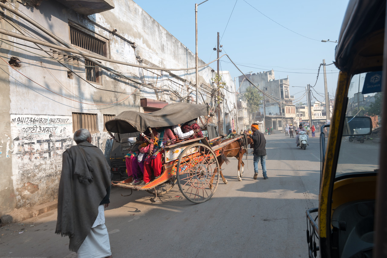 Streets of Amritsar, Punjab, North India, near the Golden temple.