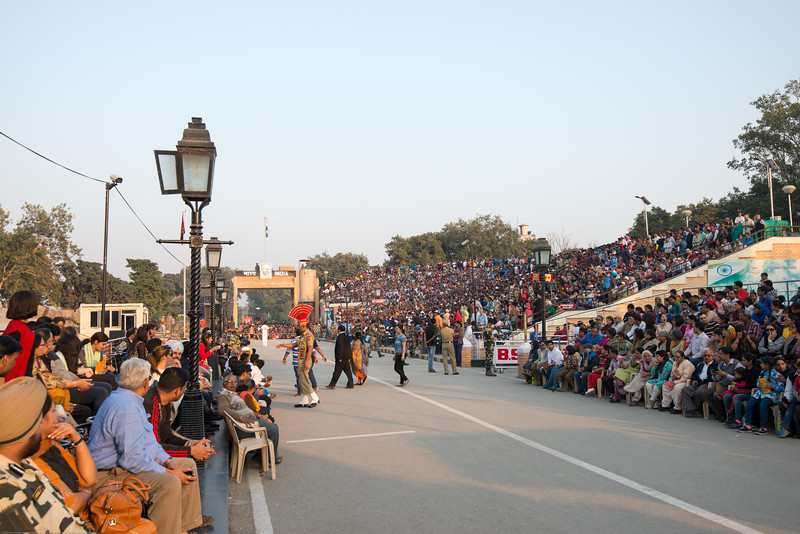 Attari/Wagah (Punjabi (Gurmukhi): ਵਾਹਗਾ, Hindi: वाघा, Urdu: واہگہ‎) border lies on the Grand Trunk Road between the cities of Amritsar, Punjab, India, and Lahore, Punjab, Pakistan.
