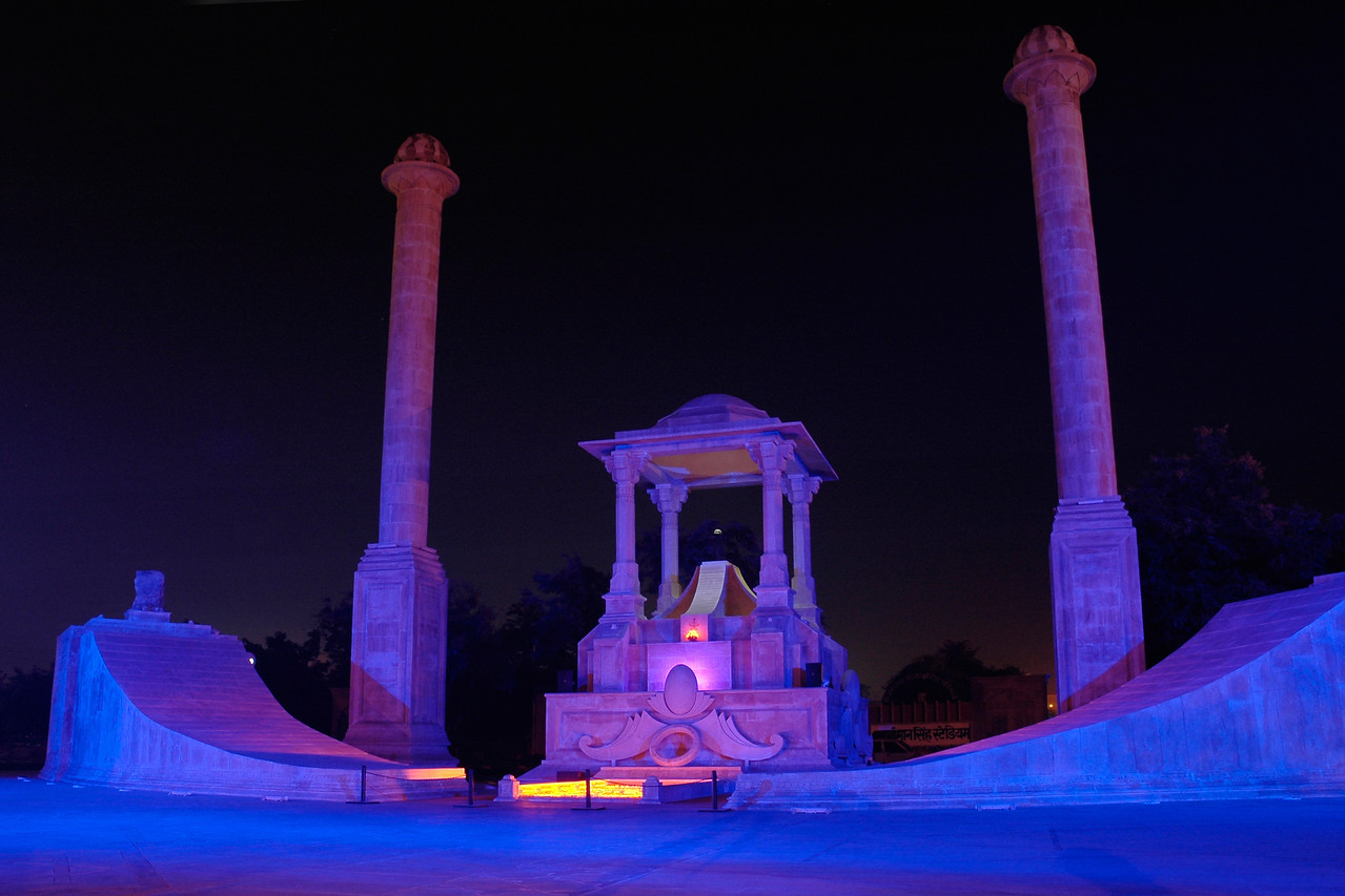 Amar Jawan Jyoti - A tribute to the martyr of Rajasthan who have died flighting for the country. Jaipur, Rajasthan, RJ, India.