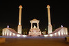 Night view of Jaipur City.<br /> Amar Jawan Jyoti - A tribute to the martyr of Rajasthan who have died flighting for the country. Jaipur, Rajasthan, RJ, India.