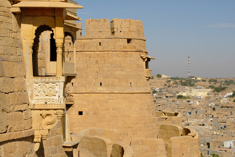 The Jaisalmer Fort, Rajasthan, India. South Asia.