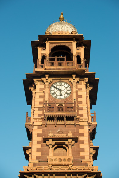 Ghantaghar market (Clock Tower), Jodhpur, Rajasthan, India.