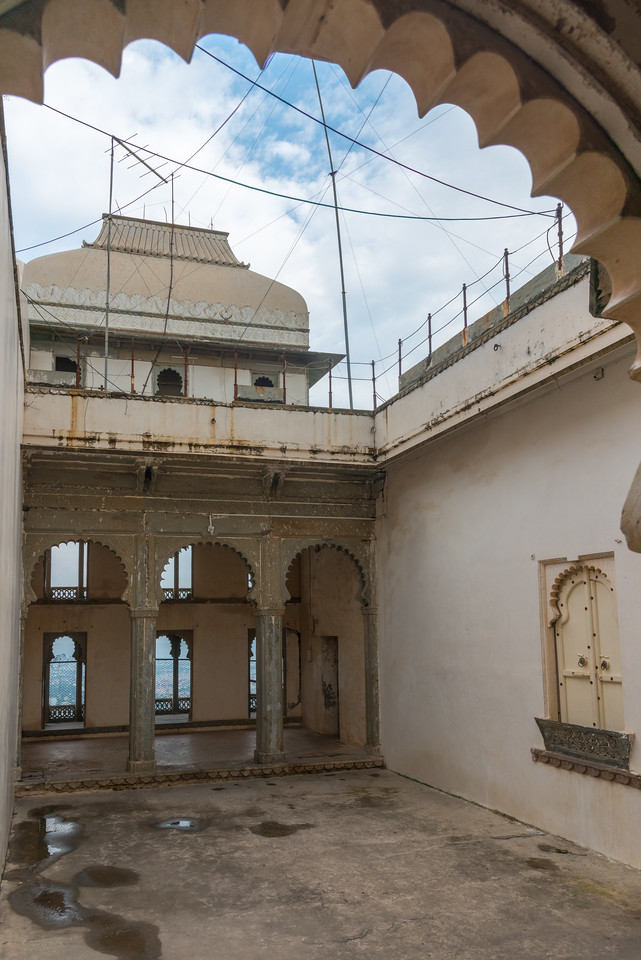 The Monsoon Palace, also known as the Sajjan Garh Palace, is a hilltop palatial residence in the city of Udaipur, Rajasthan in India, overlooking the Fateh Sagar Lake.