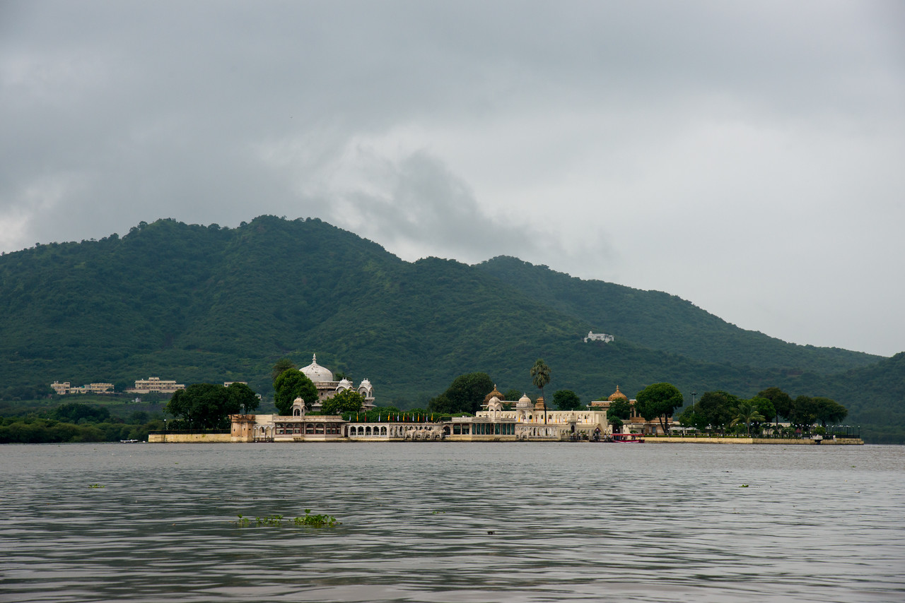"Jagmandir (Jag Mandir) is a palace built on an island in the Lake Pichola. It is also called the ""Lake Garden Palace"". The palace is located in Udaipur city in the Indian state of Rajasthan."