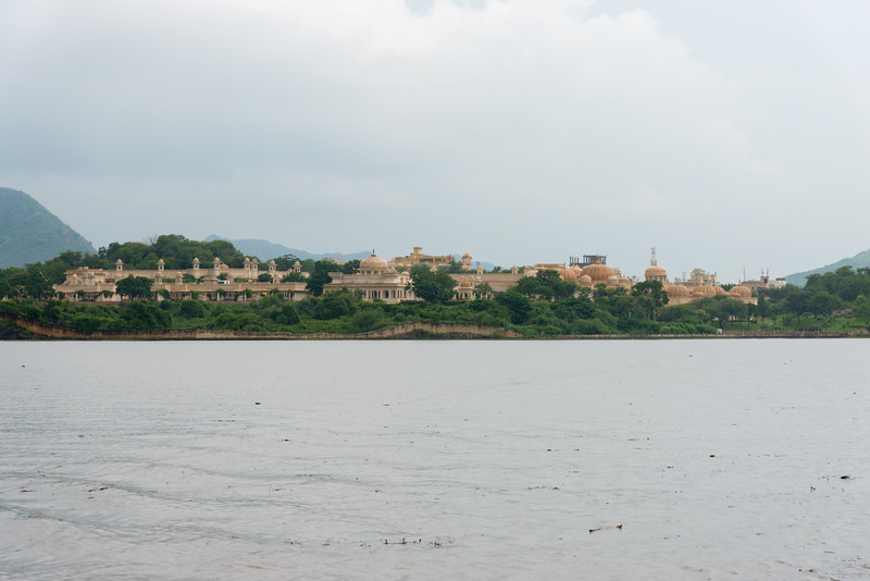 Udaipur from Lake Pichola, Udaipur, RJ, India.