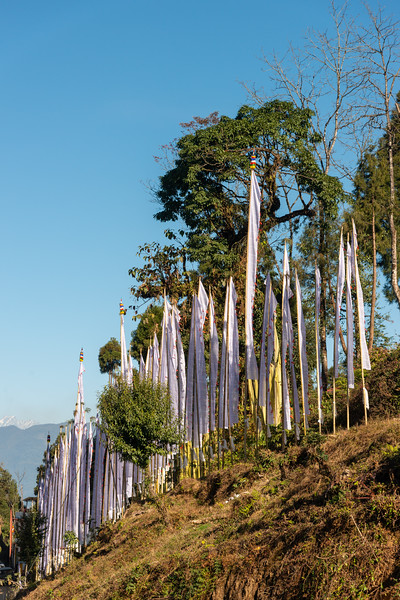 Sanghak Choeling Monastery (संघक चोएलिंग मोनास्ट्री), Pelling City, Sikkim, North East India. is a 17th-century Buddhist monastery in a remote area on a hill.