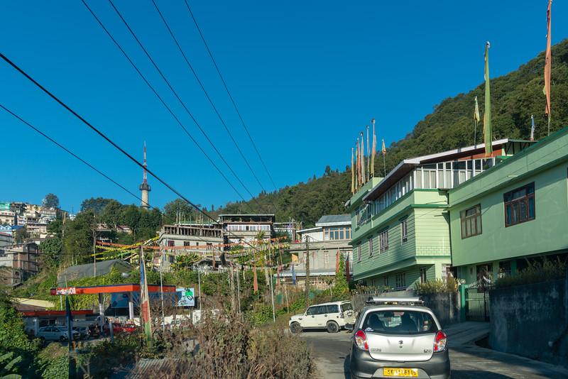 Gangtok city, Gangtok, East Sikkim, India.