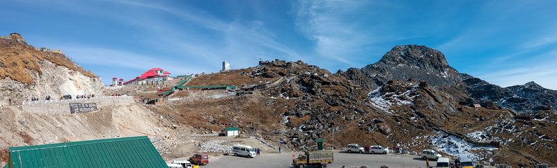 """Nathula Pass (4,310 m), East Sikkim, India. Indian army post guard this Indo-China border which is even today in use and once used to be part of the ancient Silk Road between India and China's Tibet Autonomous Region. Nathu means """"listening ears"""" and La means """"pass"""" in Tibetan."""