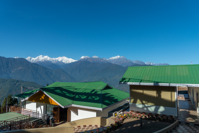 Sanghak Choeling Monastery (संघक चोएलिंग मोनास्ट्री), Pelling City, Sikkim, North East India is a 17th-century Buddhist monastery on a hill with a lovely view of Kanchandzanga mountain.