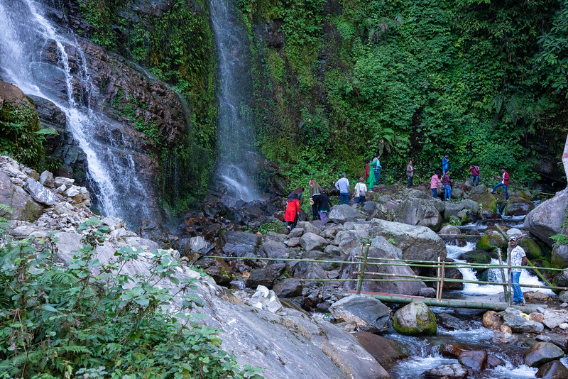 Kanchandzanga Falls (कन्चंद्ज़ंगा फॉल्स), Pelling-Yaksam Road, Sikkim. North East India.