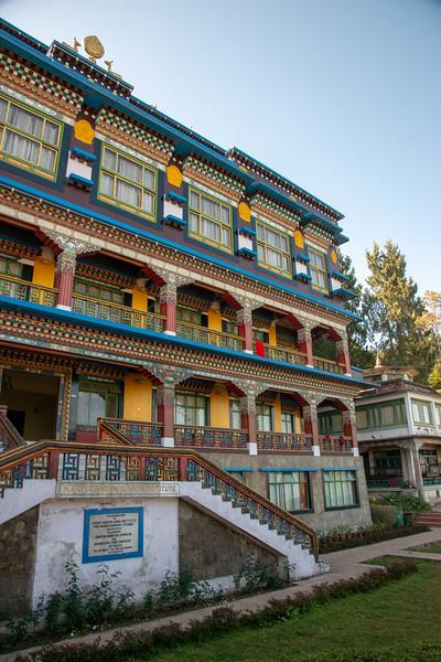 Karma Shri Nalanda Institute (करमा श्री नालंदा इंस्टिट्यूट), Dharma Chakra Centre, Rumtek, Sikkim. North East India.
