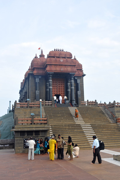 Swami Vivekananda Rock at Kanyakumari, South India.