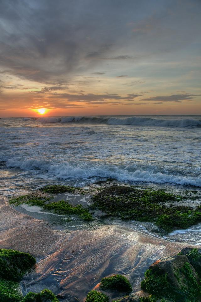 Sunrise at Kanyakumari, South India.