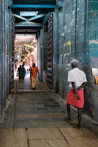 "Entrance to Vaitheeswaran Koil (Sri Vaidyanatha Swamy Temple) - Lord Angaraka Temple (The Planet Mars). Vaitheeswaran Koil or Pullirukkuvelur is a Hindu temple dedicated to the Lord Shiva. Shiva is worshipped as Vaitheeswaran or the ""God of healing"" and it is believed that prayers to Vaitheeswaran can cure diseases. Vaitheeswaran is a Tamil derivative from vaidya (Doctor) and Ishvara (God/Master). The presiding deity is Sri Vaidyanathan - the God of Healing. Location: village 7 kilometers from Sirkazhi, 27 km from Chidambaram, 110 km from Thanjavur in Tamil Nadu."
