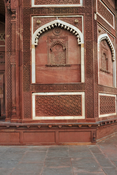 Jahangiri Mahal (Hindi: जहाँगीरी महल, Urdu: جہانگیری محل), inside the Agra Fort of India. The Mahal was the principal zenana (palace for women belonging to the royal household), and was used mainly by the Rajput wives of Akbar.