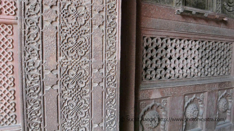 Short audio-video clip shot on Nikon DSLR of Agra Fort.<br /> <br /> Agra Fort (Lal Qila) is a UNESCO World Heritage site. It is about 2.5 km northwest of the Taj Mahal. The fort can be more accurately described as a walled palatial city. Agra, Uttar Pradesh state (UP), North India.
