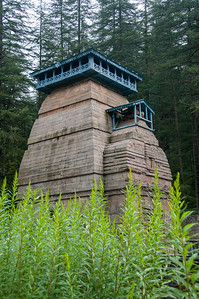 Dandeshwar temple, Binsar, Uttarakhand, is situated in the midst of deodar forest. Dandeshwar temple is at the meeting spot of two rivers 'Kirodi ganga' and 'Niroli gad'. The temple comprises a cluster of 14 large and small temples dating to 7th to 13th century and visited on the way to Jageshwar Dham.