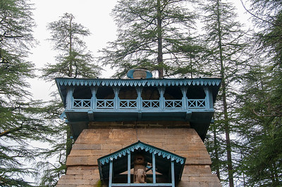 Dandeshwar temple, Binsar, Uttarakhand. Dandeshwar temple comprises a cluster of 14 large and small temples dating to 9th & 10th Century A.D. built by the Katyuri rulers and visited on the way to Jageshwar Dham.