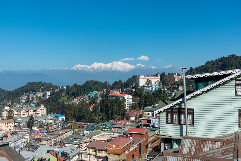 Darjeeling, West Bengal, North East India. Located at an elevation of 6,700 ft (2,042.2 m).