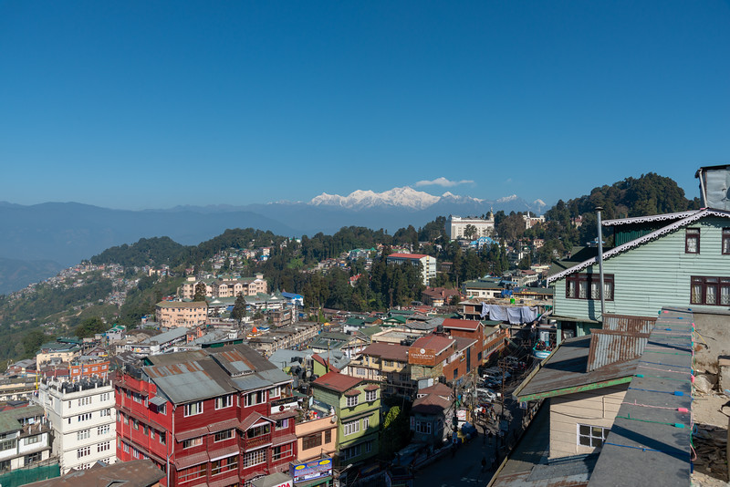 Darjeeling, West Bengal, North East India is located at an elevation of 6,700 ft (2,042.2 m).