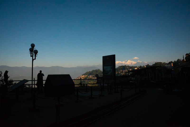 Darjeeling, West Bengal is located at an elevation of 6,700 ft (2,042.2 m). North East India.