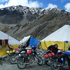 "Camping in Sarchu<br /> <br /> <a href=""http://www.motoquesttours.com/guided-motorcycle-tour.php?india-himalayan-adventure-motorcycle-tours-19"">http://www.motoquesttours.com/guided-motorcycle-tour.php?india-himalayan-adventure-motorcycle-tours-19</a>"