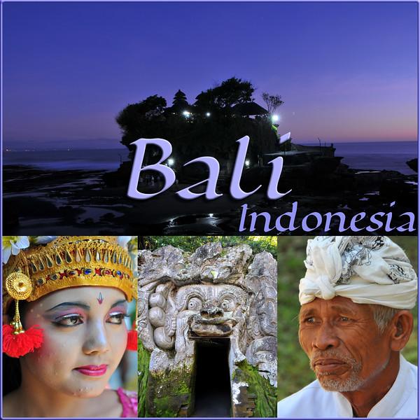 Bali is an Indonesian island with the provincial capital at Denpasar. Lying between Java to the west and Lombok to the east, the island is home to the largest tourist destination in the country and is renowned for its highly developed arts, including dance, sculpture, painting, leather, metalworking and music. What's interesting is that while Indonesia has the world's largest Muslim population, on the island of Bali, 93% of the population is Balinese Hindu and one can find Hinduism in each and every aspect of the life and living.<br /> <br /> Balinese performing arts often portray stories from Hindu epics such as the Ramayana but with heavy Balinese influence. Famous Balinese dances include pendet, legong, baris, topeng, barong, gong keybar, and kecak (the monkey dance). Bali boasts one of the most diverse and innovative performing arts cultures in the world, with paid performances at thousands of temple festivals, private ceremonies, or public shows.<br /> June, 2009.