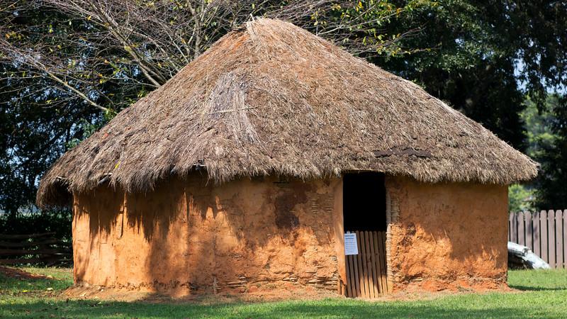 The Wattle and Daub House