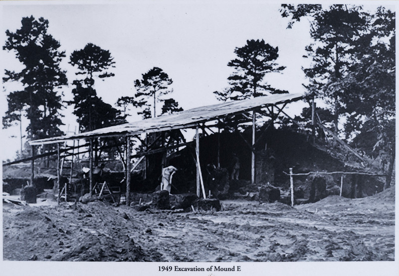 Mound E Excavation