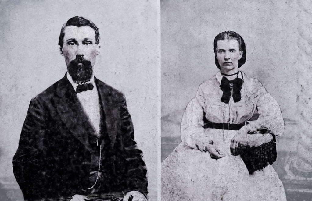 Augustus and Frances Mercier