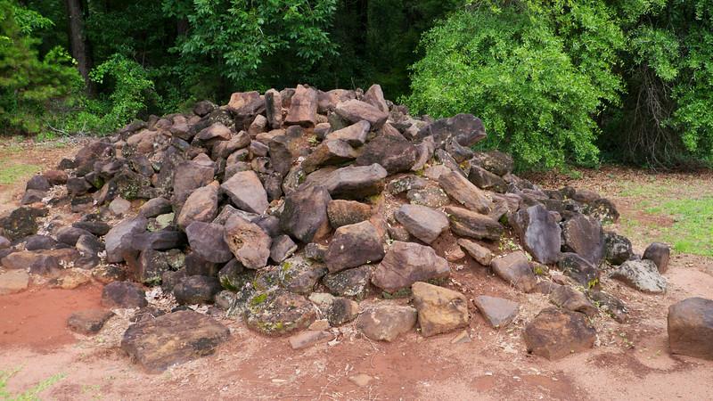 Mound E Rock Pile 2