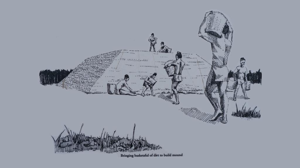 Temple Mound Construction